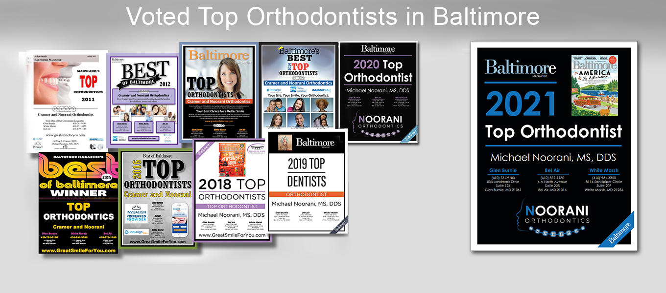 Voted Top Orthodontists in Baltimore, Invisalign, Harford County, Anne Arundel County,  Baltimore County