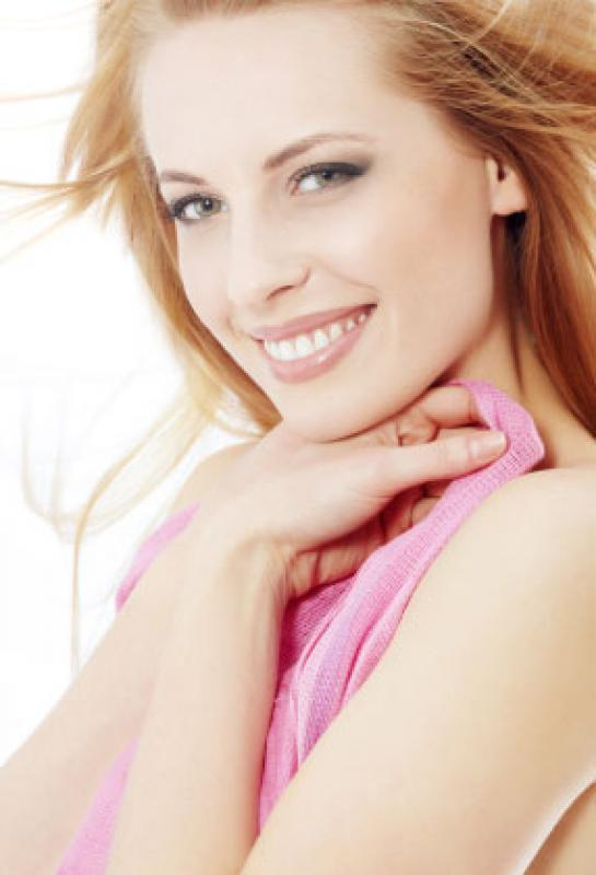 Happy Beautiful Smiling Invisalign Patient